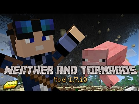 Minecraft Mod Showcase - Weather and Tornado's Mod 1.7.10