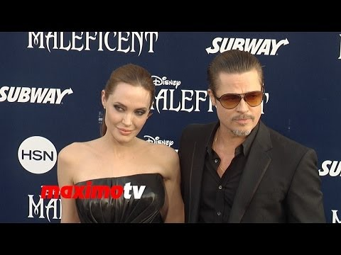 "Angelina Jolie & Brad Pitt ""Maleficent"" World Premiere in Los Angeles"