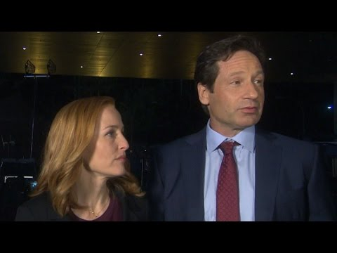 David Duchovny Says Gillian Anderson Has the Tougher Job on 'The X-Files' Reboot