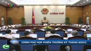 B trng Phm V Lun d hp phin thng k chnh ph thng 8 - 2012