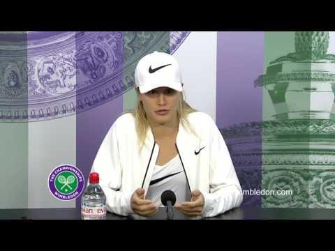 Eugenie Bouchard third round press conference