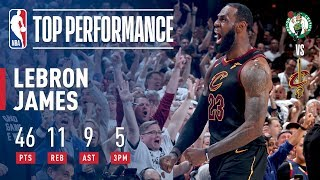 LeBron James Forces G7 With HISTORIC Performance