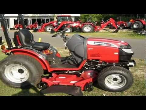 Mahindra Max 28xl With Belly Mower In Action At Safeway