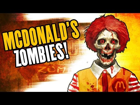MCDONALD'S ZOMBIES w/ the #GOONSQUAD - Custom Call of Duty Zombies Mod