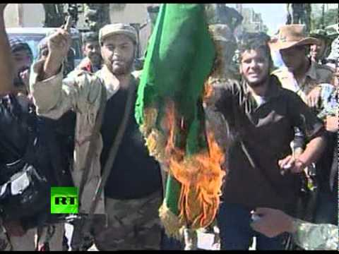 Gaddafi 'killed, died of wounds': Video of Sirte celebrations