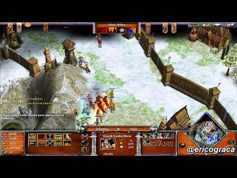 Age of Mythology - The Titans - Campanha AOM (Level 27) - Ep.24