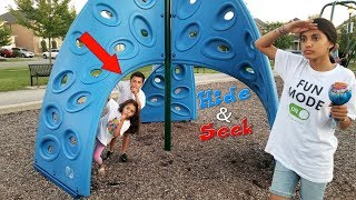 HIDE AND SEEK at the park with Hzhtube Kids Fun