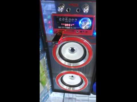 BOCINA PORTATIL HI FI USB MP3 AUX RADIO FM