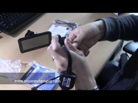 Garmin nuvi 2595 LMT GPS unboxing