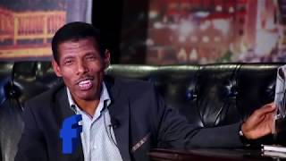 Haile Gebereselase On Seifu Show Part 1