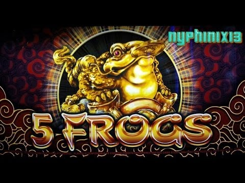 5 frogs casino game
