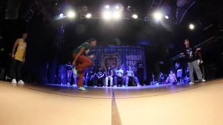 JON BOOGZ vs POP KUN - Popping Last 16 (UK Champs World Finals 2011)