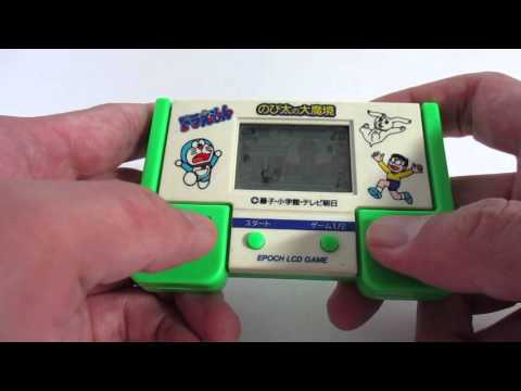 16337 Epoch LCD Game Doraemon Nobita and the Haunts of Evil thumbnail
