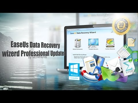 EaseUs Data Recovery wizard Professional 7.5 Updated