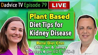 Plant Based Diet for Kidney Disease - Common Mistakes to avoid & tips for better Kidney Health