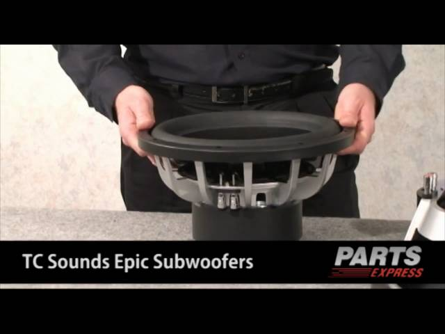 TC Sounds - Direct from Thilo Stompler - The 2010 New EPIC Subwoofer Line Explained video