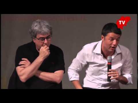 """Renzi a Treia: """"L'Italia ce la farà"""""""