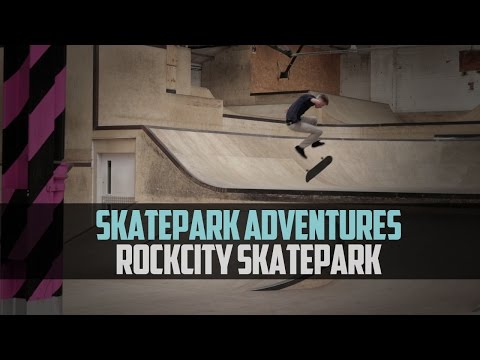 Skatepark Adventures Ep1: Return of the Hurn (Rockcity Skatepark)