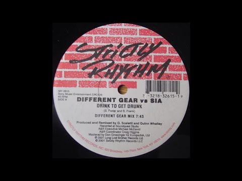 Different Gear vs Sia – Drink To Get Drunk (Different Gear Mix)