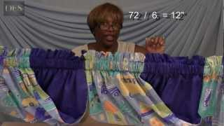How to make Swags Valance