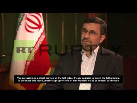 Russia: Iran isolated only in Western eyes - Ahmadinejad