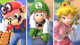 Super Smash Bros Ultimate: All Taunts From All Characters