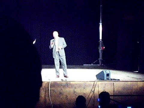 Giovanni Cacioppo: lo spettacolo comico