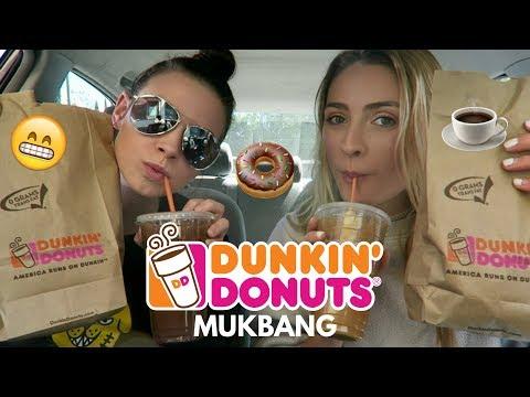 Dunkin' Donuts Mukbang!! Food & Drink (Car Mukbang) thumbnail