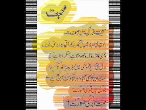 Mohabat - A poem.3gp