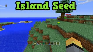 Minecraft Xbox 360 PS3 Survival Island Seed + Pirate MiniGame