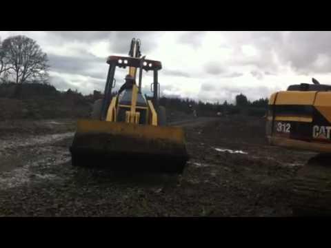 Jeremy working at matt Roloff dirt