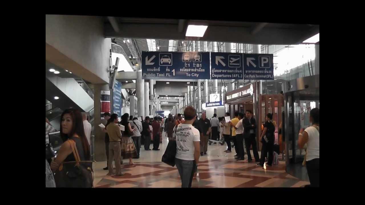 Meeting Point At Suvrnabhumi Airport Bangkok Thailand