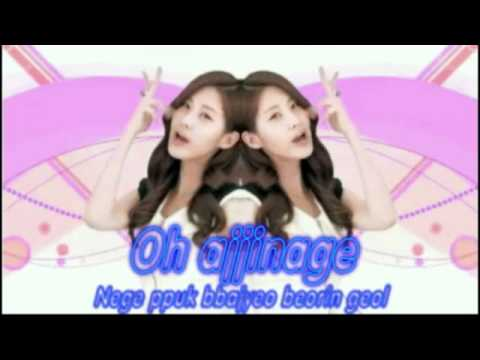 SNSD Visual Dreams with lyrics on screen and pictures - improved version
