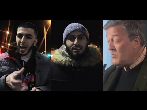 Muslim Fry Stephen Fry || #AtheistLogic