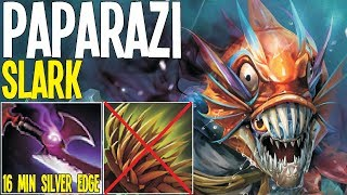 Paparazi Slark Counter Bristalback 16 Min Silver Edge 20 Kills | Dota 2 Pro Gameplay