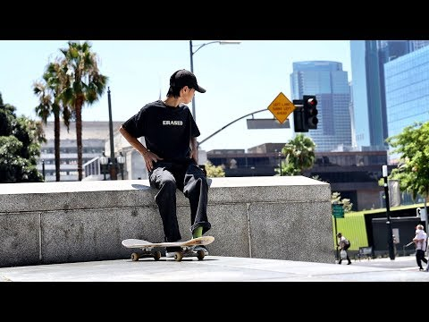 L.A. SKATE LIFE OF A FOREIGN JAPANESE KID
