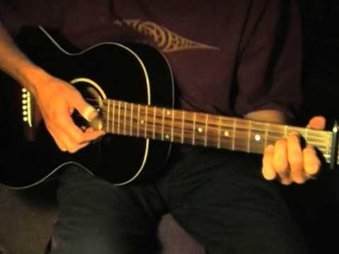 Crow Jane - Acoustic Blues Lesson Part 1/2 - FREE TABLATURE