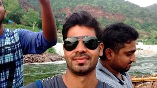 Srisailam damlwater ride with frnds