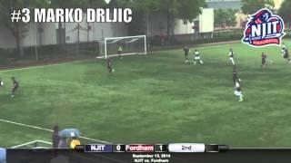 NJIT Men's Soccer Highlights vs. Fordham