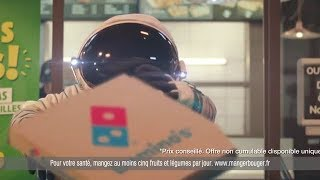 Pub Domino's Pizza Le Cosmonaute - Les pizzas du Mardi a 7 99€