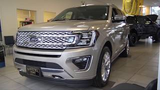 🔴 NEW 2018 Ford Expedition w/ Platinum Package   Showroom Review @ Ravenel Ford