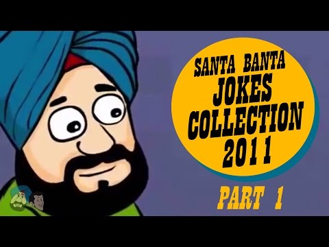 Santa Banta Comedy Jokes Collection 2011 (Part 1) | Funny Videos | Official