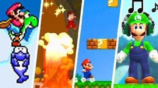 Evolution of Best 2D Super Mario Levels (1985 - 2018)