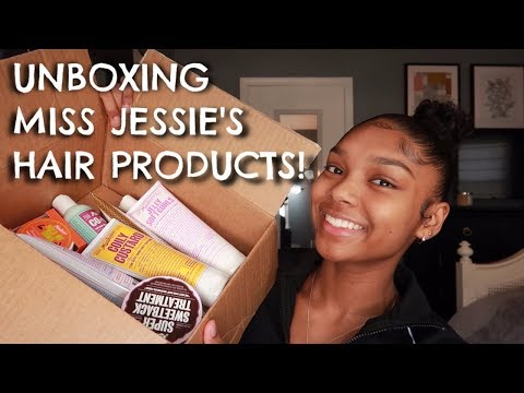 UNBOXING MISS JESSIE'S HAIR PRODUCTS | HUGE HAIR CARE HAUL!!