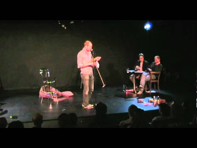 Lasse Nyholm Jensen - De fynske mesterskaber i Poetry Slam 2009