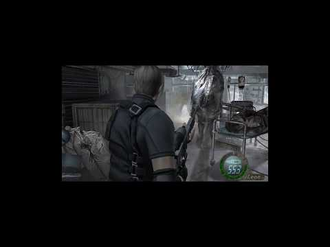 leon tratando de follar a ashley con loquendo (resident evil 4) 1/2