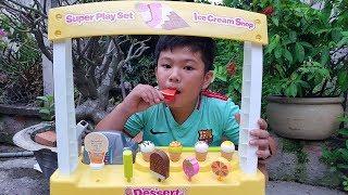 Đồ Chơi Siêu Thị Kem Mini ❤ ChiChi ToysReview TV ❤ Trò Chơi Trẻ Em Baby Fun