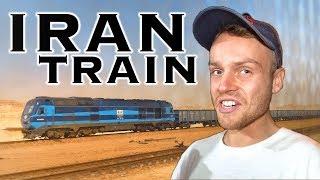 CRAZY 23 HOUR Train Trip in IRAN 🇮🇷(1000 Mile Journey)