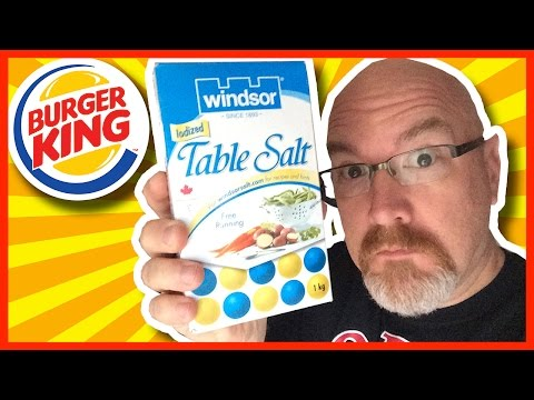Burger King - Under 1000mg Sodium Fast Food Challenge
