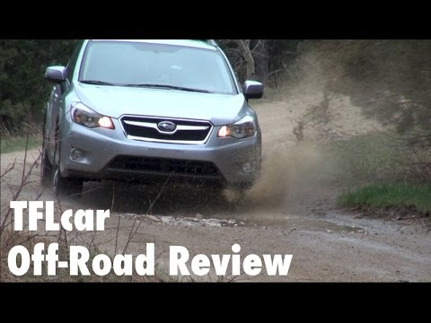 2014 Subaru CrossTrek XV Hybrid Muddy Off-Road Review
